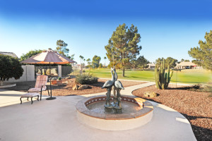 Golf course home in Sun Lakes AZ