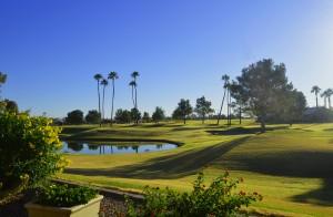 Sun Lakes Oakwood golf course home