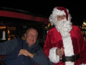 Santa visiting Sun Lakes