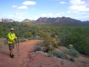 HHiking in Sun Lakes Arizona