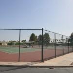 Tennis courts at Sunbird