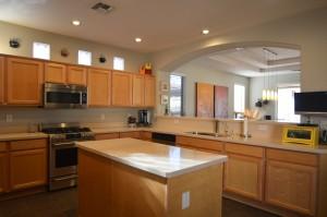 Sienna Floor Plan with open kitchen