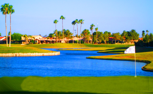 Golf in Sun Lakes AZ
