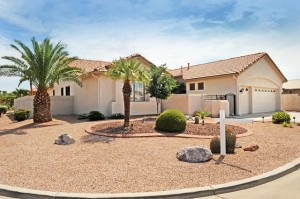 Golf course views for sale in Sun Lakes AZ