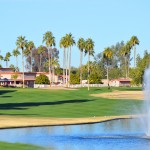 Golf course at Sun Lakes AZ