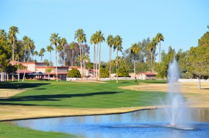 Golf course at Palo Verde