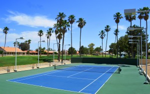 Tennis Court at Palo Verde