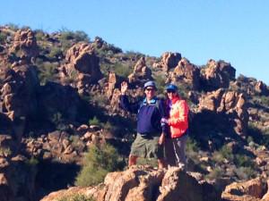 Sun Lakes Arizona near hiking