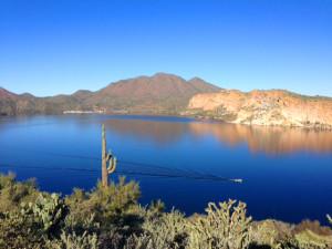 Saguaro Lake Hiking