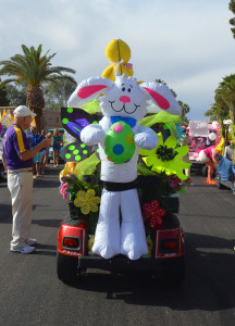 Easter Golf Cart Parade in Sun Lakes AZ