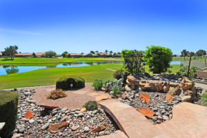 Sun Lakes golf course and waterfront home