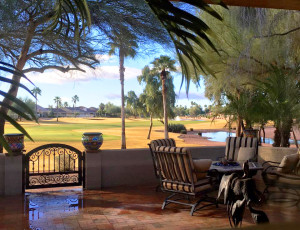 Sun Lakes Oakwood golf course view home