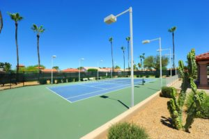 Play tennis in these active adult retirement communities near Phoenix, AZ