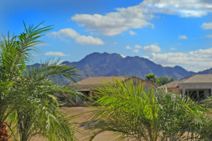 Solera Chandler home with mountain view