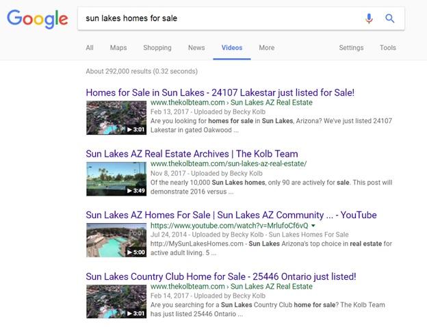 Sun Lakes Realtor