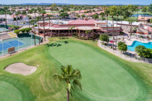 The Sun Lakes Community, Arizona offers golf and resort amenities.