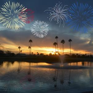 Fireworks in Chandler