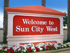 Sun City West homes in Arizona Retirement Communities