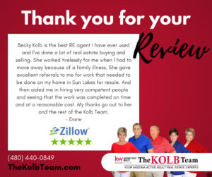 Kolb Team Client Review