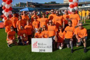 The Kolb Team participates in the Scottsdale ALS Walk.