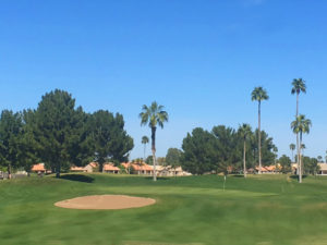 Ironwood golf course located in the active adult community of Sun Lakes.