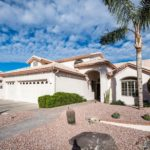 Beautiful entry into this home located at 10036 E Cedar Waxwing Dr Sun Lakes AZ.