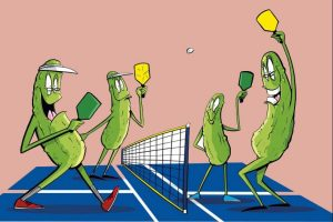 The popular game of pickleball in Sun Lakes AZ is one the Americas fastest growing sports.