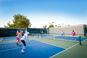 Pickleball in Sun Lakes AZ! is a great way to meet new people!