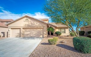 10051 E Nacoma Ct Sun Lakes offers a beautiful home to pull up to.