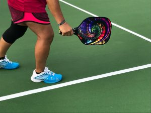 Show your individuality in your racket when playing pickleball in Sun Lakes AZ.