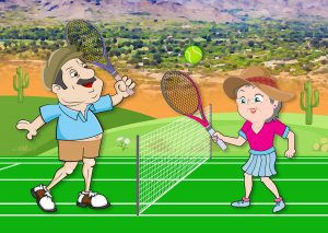 Everything you need to know before moving to sun lakes is that there are many people to play tennis with.