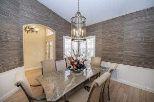 You will love eating in this dining room at 25418 S Spring Creek Rd.