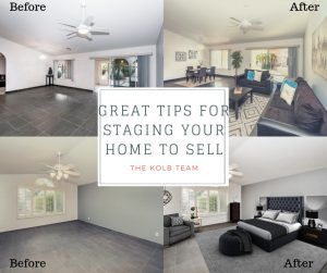 Staging tips that will work to get your home sold quickly.