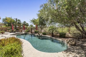 Stay cool in your pool at 4019 E Meadowview Dr.