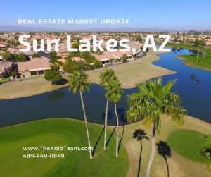 The real estate market update for Sun Lakes AZ is very helpful for you.