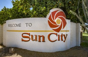 Sun City is an active adult community in Phoenix AZ.