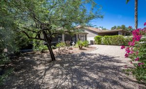 You will think your at the park in the backyard at 25031 S Angora Ct Sun Lakes