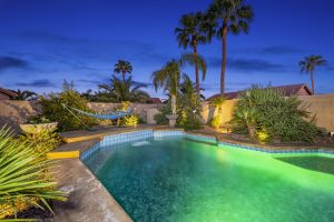 Enjoy your very own backyard oasis at 10202 E teakwood Court.