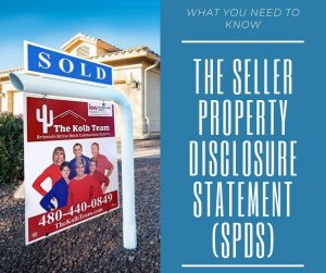 What you need to know about the seller property disclosure statement.