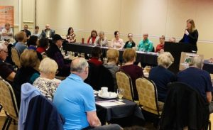 Helping seniors through the selling process seminar is very helpful.