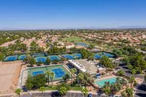 Enjoy tennis and pickleball with your active adult lifestyle for sale.