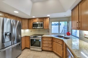 Enjoy the kitchen upgrades at 10413 E Spring creek Rd.