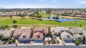 Enjoy the golf course views at 9509 E Sunridge Dr.