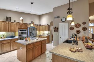 Enjoy cooking in this kitchen at 9242 E Coopers Hawk.