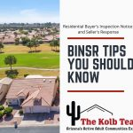 Tips you should know about Buyer's Inspection Notice and Seller's Response.