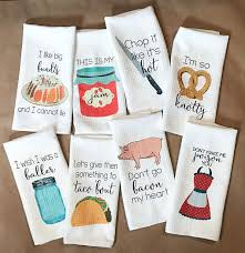 Funny kitchen towels are on the top 10 holiday gifts for homeowners.