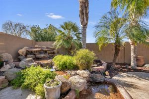 Relax in the beautiful backyard at 24223 S Briar Wing Dr.