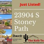 23904 S Stoney Path Just Listed in Oakwood.
