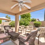Enjoy your backyard oasis at 10909 E Silvertree Dr.