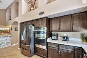 Enjoy the updated kitchen at 24908 S Lakestar Dr.